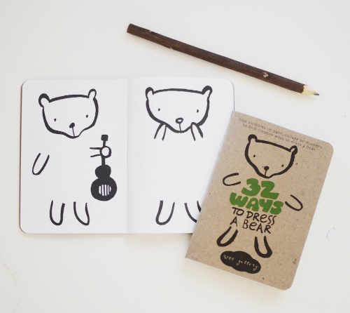 Kleurboek - 32 manieren om een beer aan te kleden   Wee Gallery