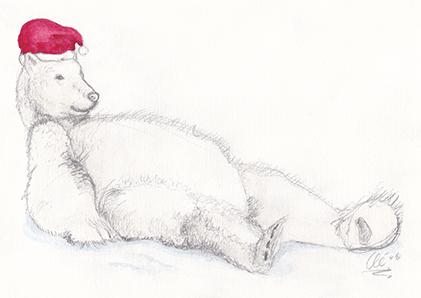 Kaart Liggende beer