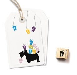 Mini stempel Cadeautje | cats on Appletrees