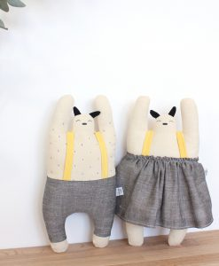 Design knuffel Popetse Tokie en Tokiko design pop