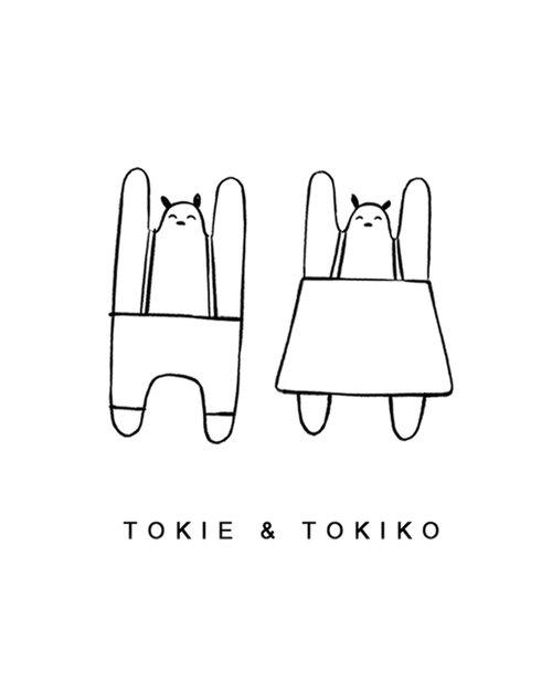 Popetse Toys - design poppen - Toki en Tokio