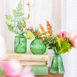 Set groene vaasjes | Sass and Belle