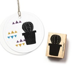 Stempel cactus rond | Cats on Appletrees