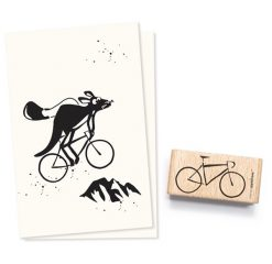 Stempel fiets | Cats on Appletrees