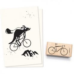 Stempel fiets   Cats on Appletrees