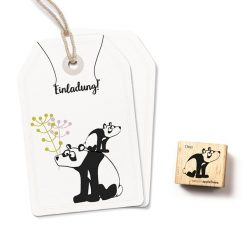 Stempel panda beer Ono  Cats on Appletrees