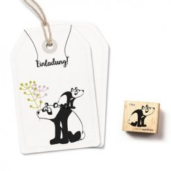 Stempel panda beer Ono| Cats on Appletrees