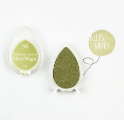 Stempelkussen versa magic groen - magic sage